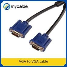 VGA to VGA cable(3+5/3+6) female vga to rca