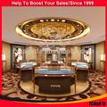 سقف صالة عرض المجوهرات وتصميم متجر المجوهرات تصميم سقف صالة العرض