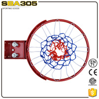 steel height offical size basketball ring spring