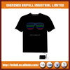 alibaba best quality wholesale cheap led t-shirt