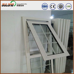 Wind resistance UPVC profile/plastic profiles easy to clean
