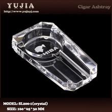 Guangzhou Yujia Wholesale COHIBA K9 crystal cigar ashtray hotel ashtray promotion gift ashtray