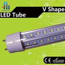 China supplier v shape popular tube 4ft 25w sharp led tube