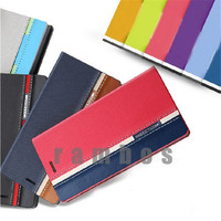 Stand Book Wallet Case Cover Flip Card Holder Leather Funda for Samsung Galaxy S6 Edge Plus