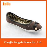 flat shoes latest women shoes print popular lady sexy leopard design