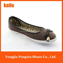 flat shoes latest women shoes print popular lady sexy leopard design