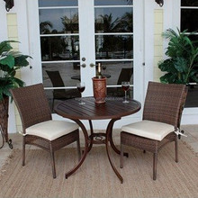 2015 Outdoor furniture rattan coffee table and chair