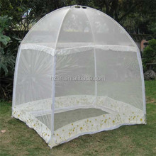 2015 new products Folding portable single size bed net cheap foldable pop up tent mosquito net to India and Indonesia