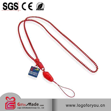 neck bling plain woven promotion heated transfer lanyard