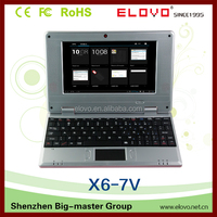 7 inch Mini Laptop computer Original VIA WM8850 android laptop