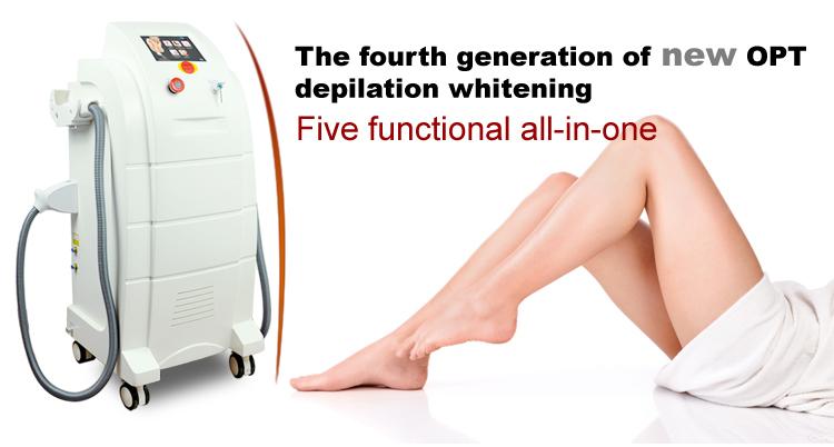 equipo de la belleza depilación láser / rejuvenecimiento de la piel ...