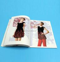 hot wholesale catalog softcover clothing catalog