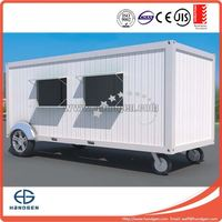 20ft container house for mobile store , container coffee shop