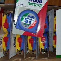 wood measuring tape