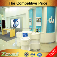 UAE popular cell mobile phone shop cabinet showcase counter