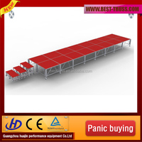 heavy duty portable stage used portable staging