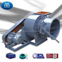 High temperature Belt Driven coke oven centrifugal fans