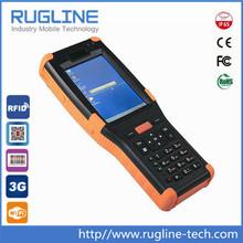 Handheld PDA long range rfid reader,1D/2D barcode reader (RT620)