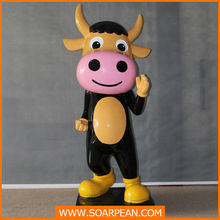 Standing Resin Kung Fu Cattle Doll