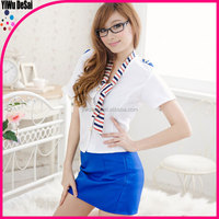 Stewardess outfit sexy uniform Mature OL women's clothes
