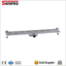 304 stainless steel material floor drain grate wall fixed
