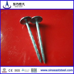 competitive price, 8mm umbrella roofing nails for wood product Chinese leading manufacturer