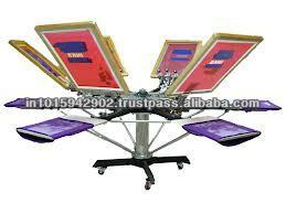 t shirt silk screen machine