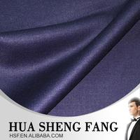 High Quality Blue Men's Formal Pant 100 Wool Trousers Fabric