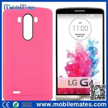 Factory Cheap Price for LG G4 Mobile Phone Case, Mesh Style Soft Gel TPU Case Cover for LG G4