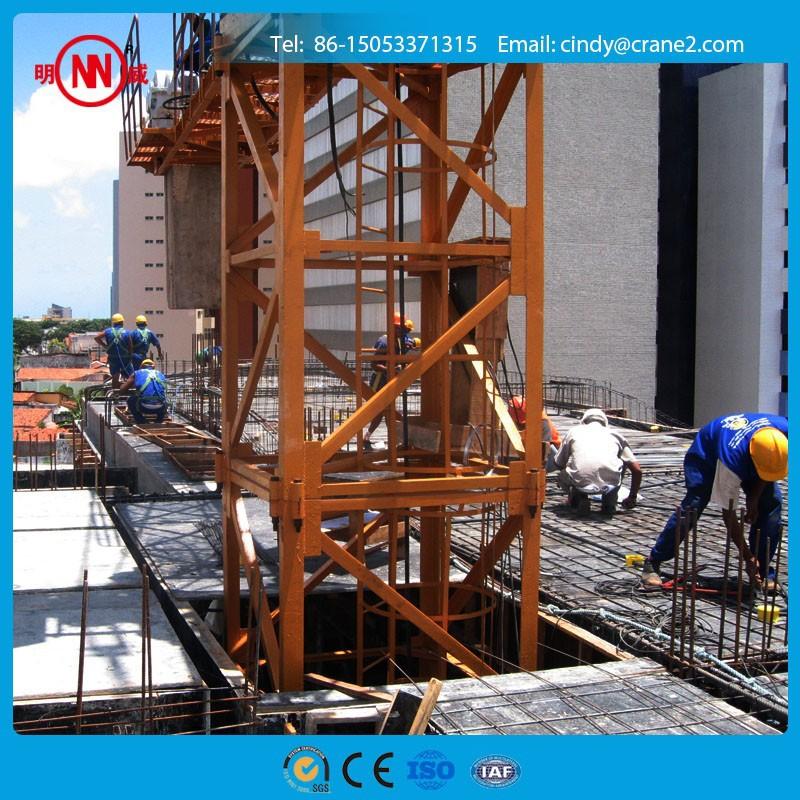 Tower Crane Climbing : Inner climbing tower crane t inside