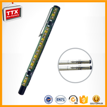 The best price you can get Hot sale promotional metal 2015 most popular feather pens