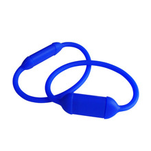 1gb corporative gifts cheap silicon wristbands pen drive