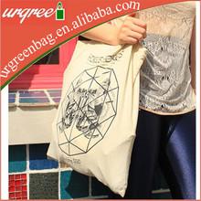 Hot Selling Promotional Custom Bag Eco Cotton Shopping Bag Type