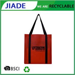 Hot selling waterproof reusable folding shopping bag,plastic reusable shopping bag