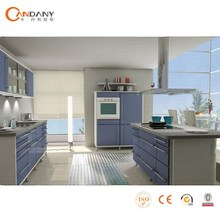 modular fitted melamine kitchen cabinet with high quality ,modular kitchen cabinet color combinations