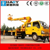 12m to 32m telescopic air lift supplier, hydraulic boom lift