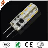 2015 Most popular G4 led corn bulb light 3W 48pcs SMD DC/AC 12V G4 lighting bulbs