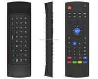 latest internet tv control Wireless Air Mouse for Android TV Box MX3 airmouse+keyboard for smart tv