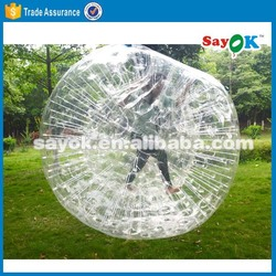 inflatable-ball-suit/ giant clear inflatable outdoor ball