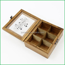 Manufacturer Gift Wooden Tea Coffee Boxes Wholesale