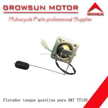 Flotador tanque gasolina de respuestos de motocicleta para TT150