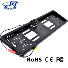 Waterproof European license plate frame Camera, rearview camera with parking line