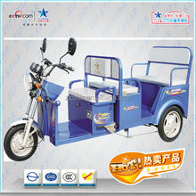 three wheels electric tricycle / battery rickshaw / popular in Southeast Asian countries