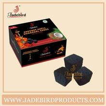 CC-03 72pcs Jadebird coconut shell charcoal for shisha