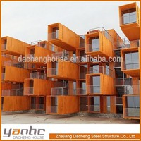 modern ocean container homes -shipping container house/hotel apartment/