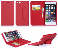 Online Shopping Guangzhou PU+PC Mobile Cover, Leather Flip Phone Case For iPhone 6 5.5inch