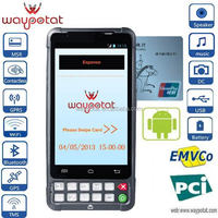 Android 4.2 mobile phone POS terminal credit card reader
