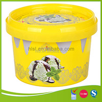 Iml 18 Oz Square Plastic Ice Cream Tub With Lid