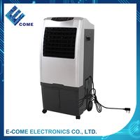 115V silver Evaporate water cooling fan/ water fan air cooler stand fan with ice box