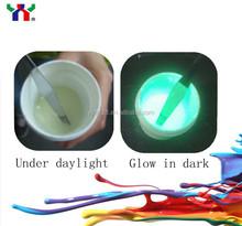 Night Luminous Ink/glow in the dark ink/screen printing glow in the dark ink for t-shirt printing